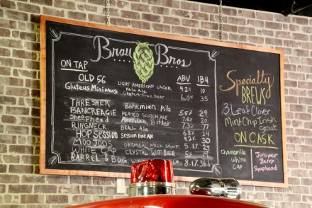Brau Brothers Brewing Company Tap List