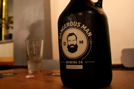 Dangerous Man Brewing Company Growler