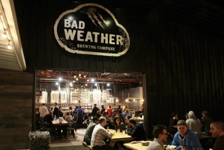 Bad Weather Brewing Company Exterior