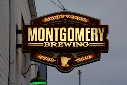 Montgomery Brewing Company Sign