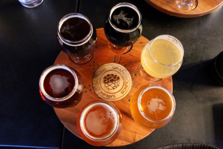 Grand Rounds Brewpub Flight