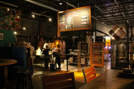 Harriet Brewing Interior