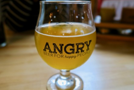 Angry Inch Brewing Beer