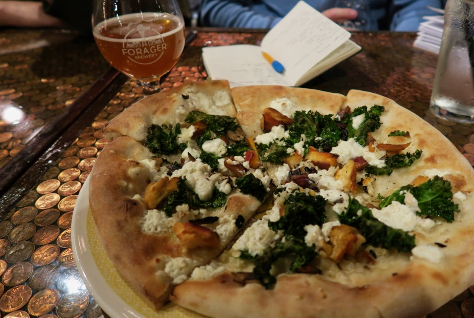 Forager Brewing Company Pizza