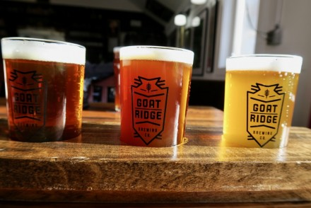 Goat Ridge Brewing Company Flight