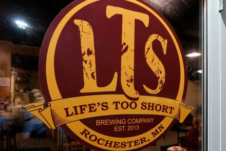LTS Brewing Sign