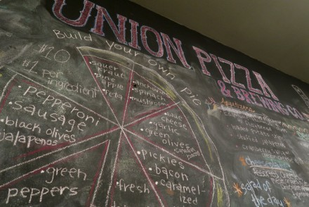 Union Pizza & Brewing Co. Menu