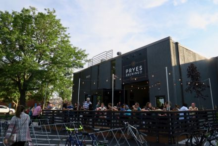 Pryes Brewing Company Exterior