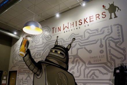 Tin Whiskers Brewery Mural