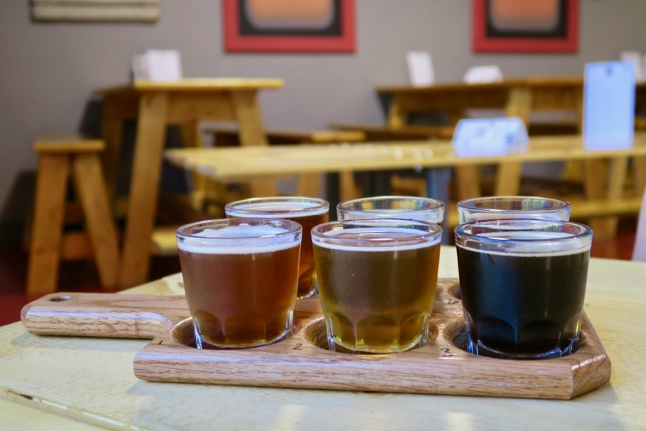 u4ic Brewing Flight