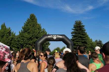 Castle Danger Brewery Running Series Start