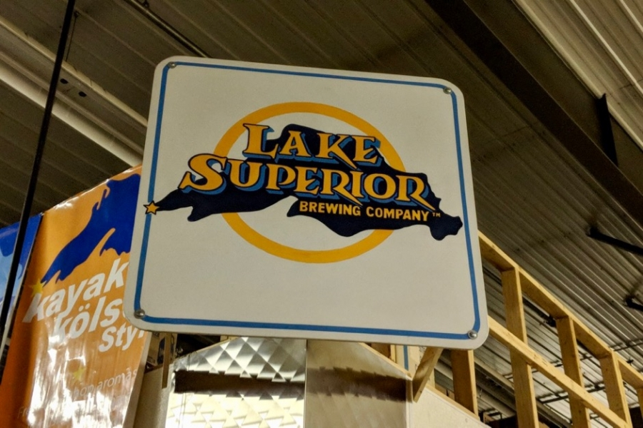 Lake Superior Brewing Sign
