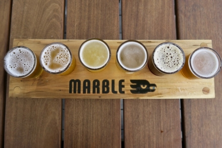 Marble Brewery Flight