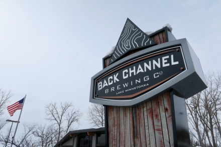 Back Channel Sign